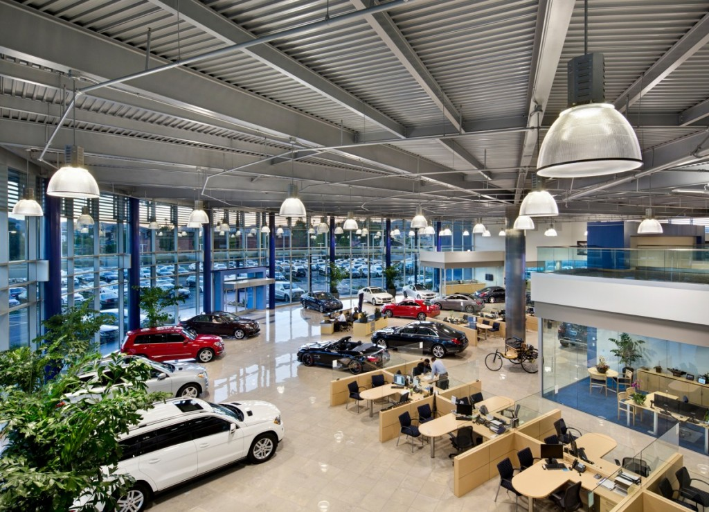 Delightful Mercedes Benz Of Pleasanton Is A New 80,000 SF Automotive Dealership With A  2  Story Parking Structure And Service Department. The Dealership Is The  Largest ...